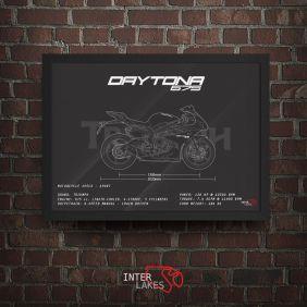 QUADRO/POSTER TRIUMPH DAYTONA 675I