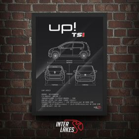 QUADRO/POSTER VOLKSWAGEN UP! TSI MOVE 2016