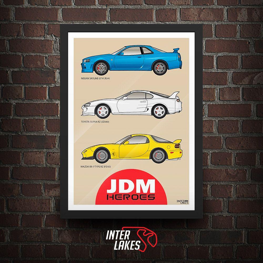 90'S JDM HEROES