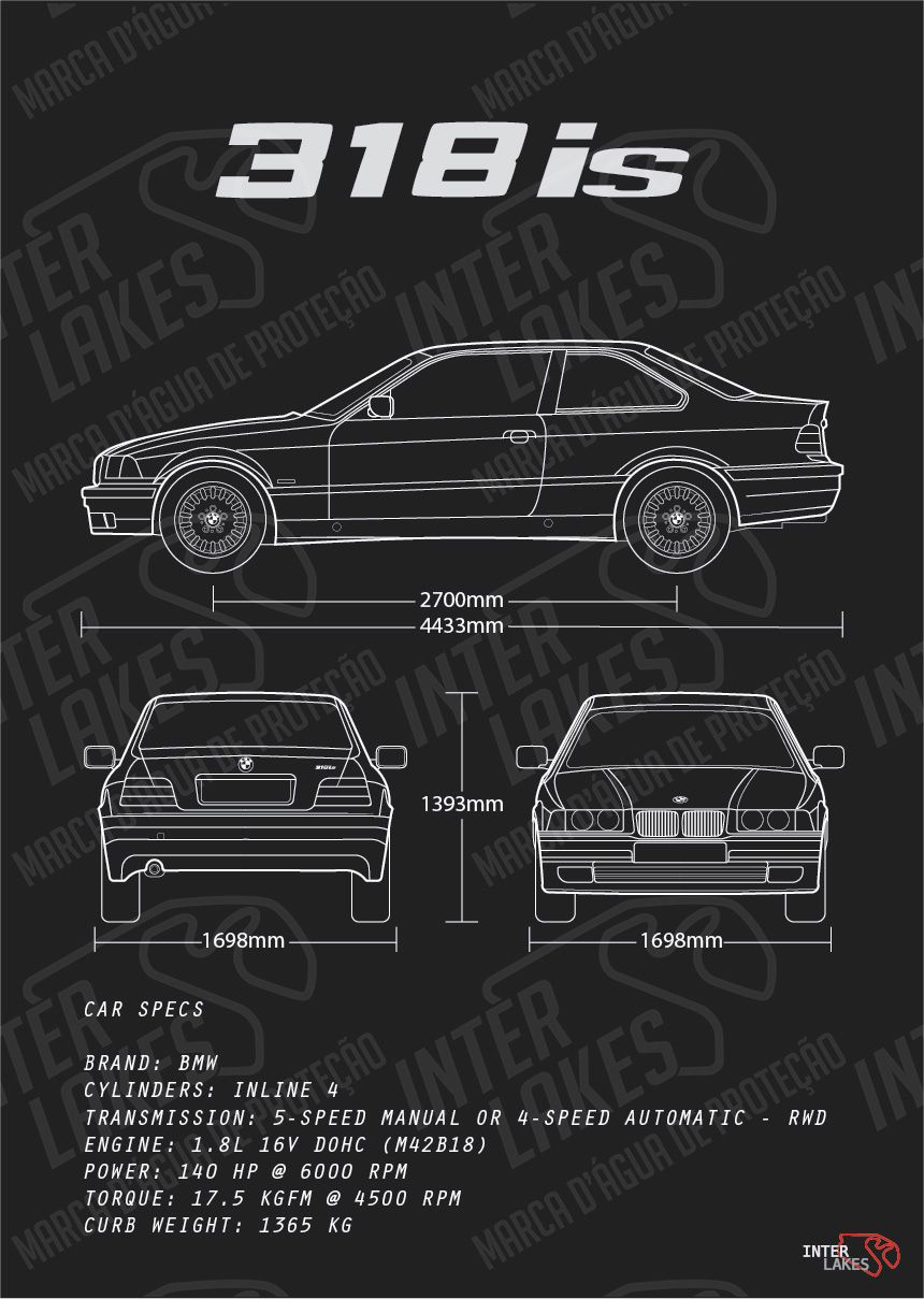 BMW 318IS E36 COUPE