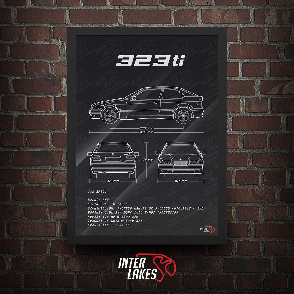 BMW 323TI E36 SÉRIE 3 COUPÉ