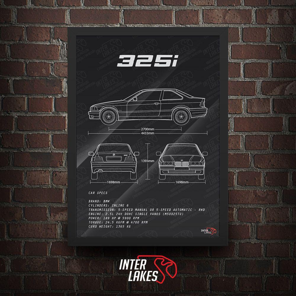 BMW 325I E36 COUPÉ