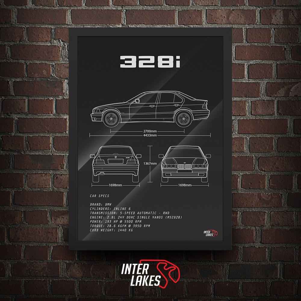 BMW 328I E36 SÉRIE 3 SEDAN