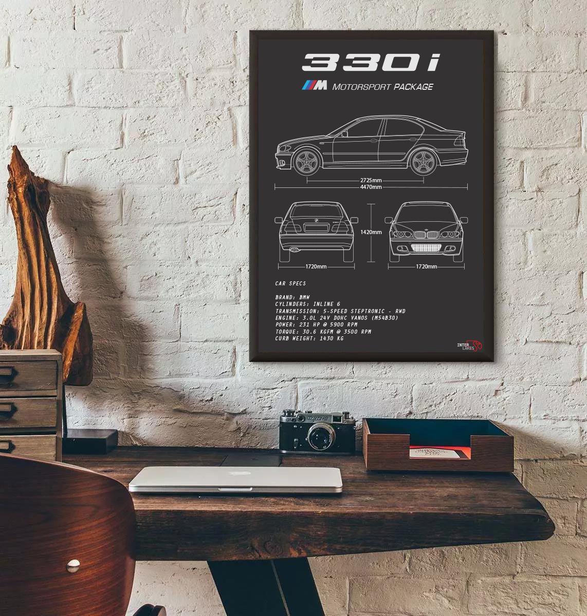 BMW 330I E46 SÉRIE 3 SEDAN