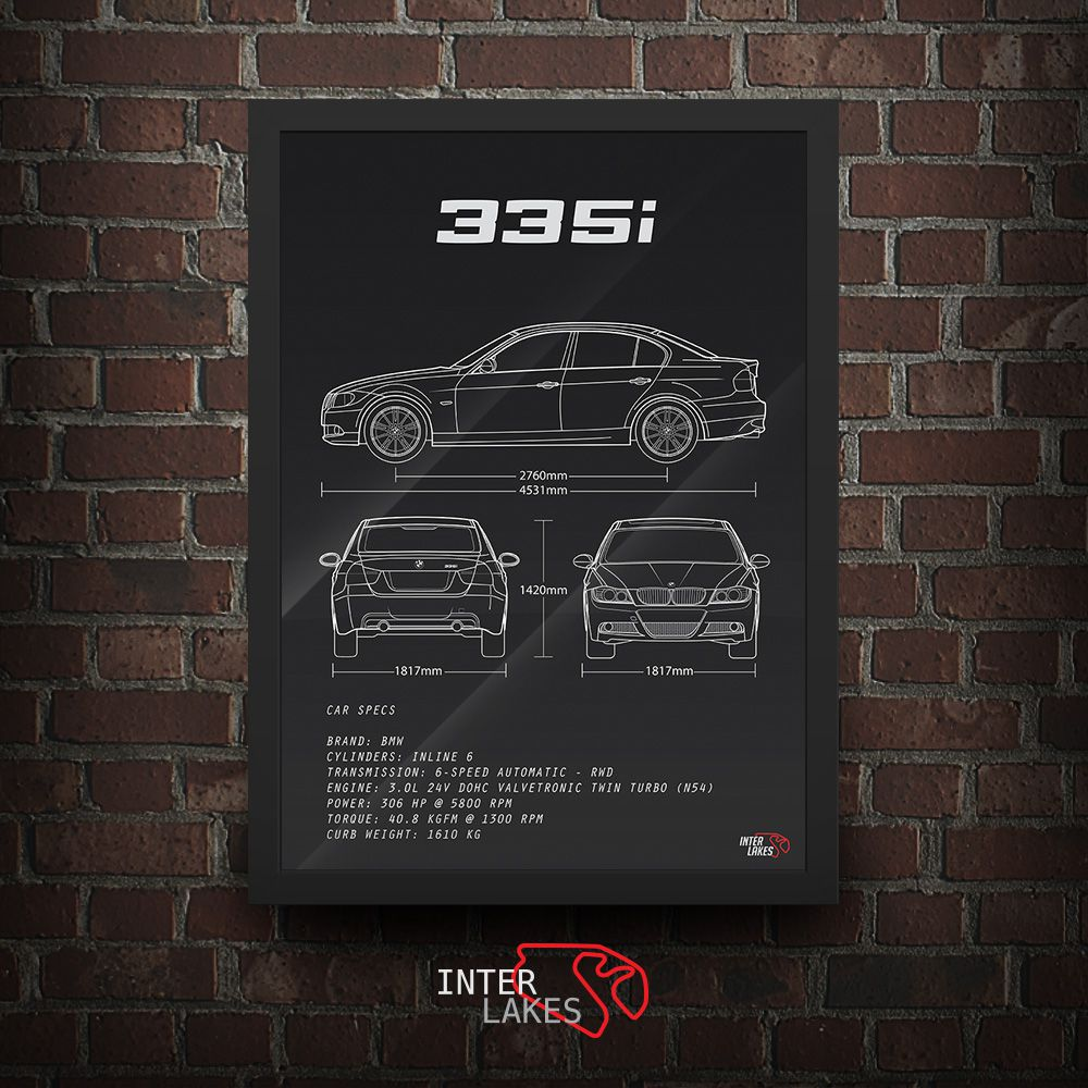 BMW 335I E90 SÉRIE 3 SEDAN FACELIFT N54