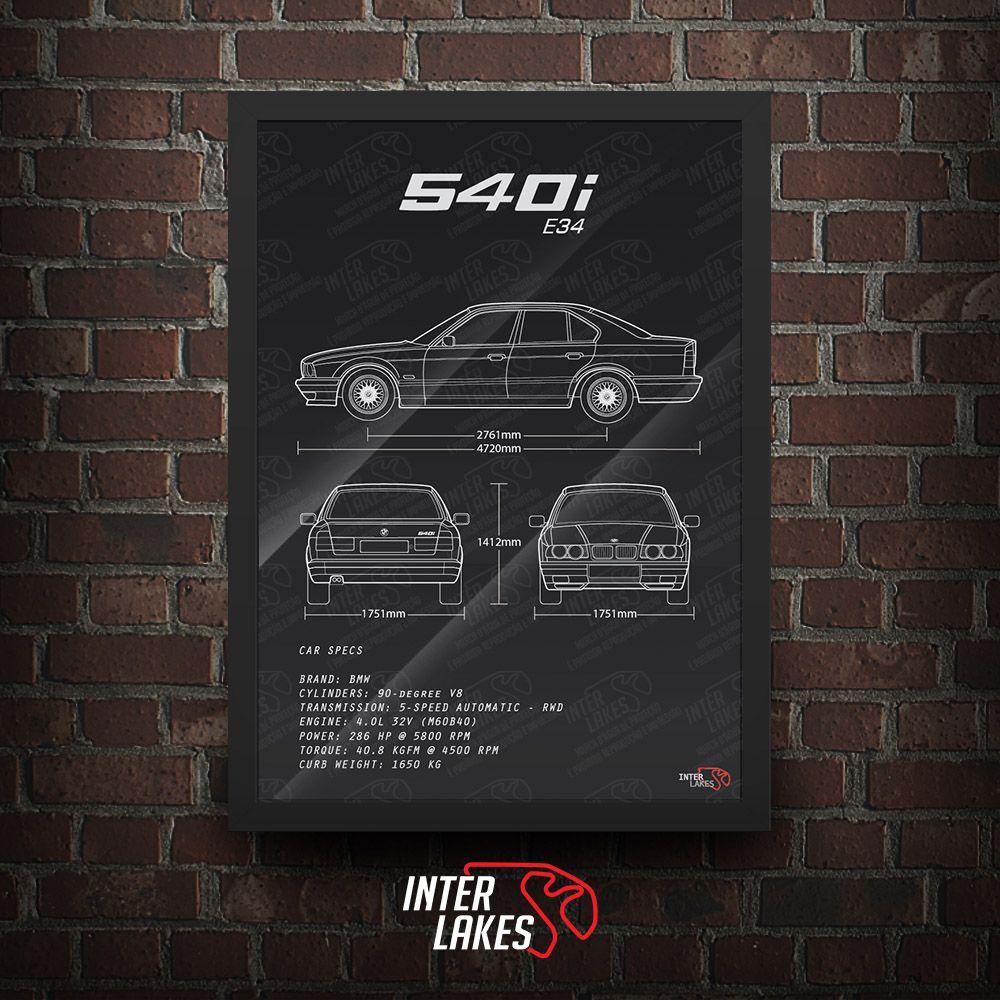 BMW 540I E34 SEDAN SÉRIE 5