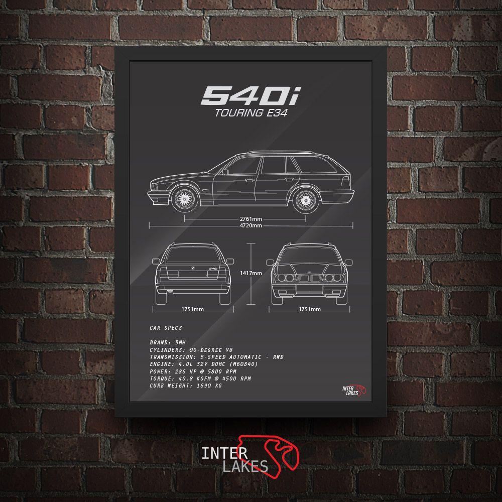 BMW 540I E34 TOURING