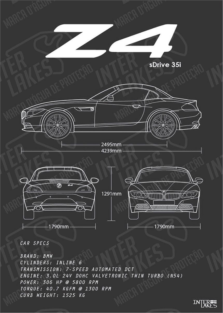 BMW Z4 SDRIVE E85 35I ROADSTER Z SERIES