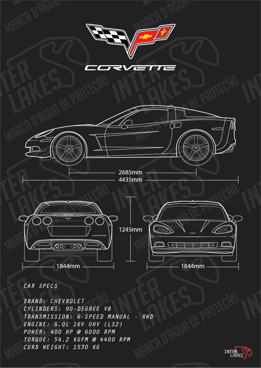 CHEVROLET CORVETTE C6 LS2