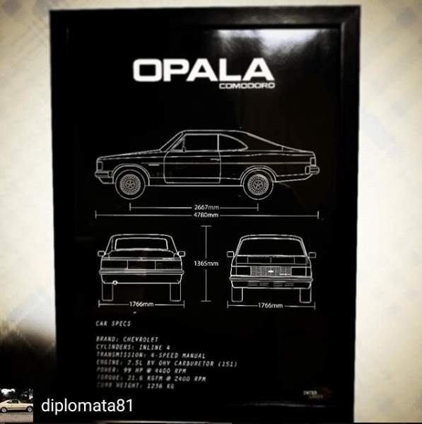 CHEVROLET OPALA COMODORO 83