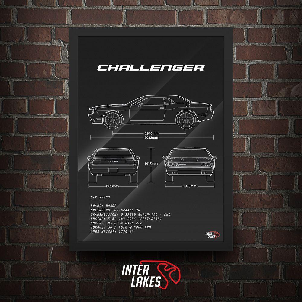 DODGE CHALLENGER SE V6