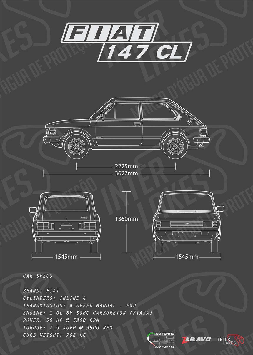 FIAT 147 CL 1982