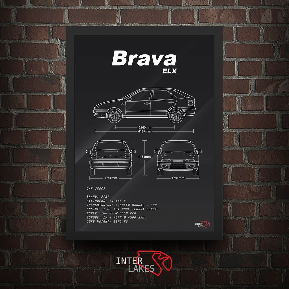 FIAT BRAVA ELX 2001