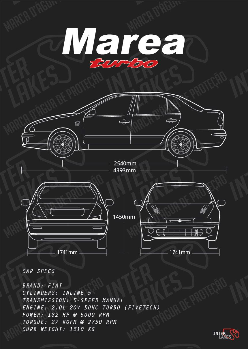 FIAT MAREA SEDAN BADBOY TURBO