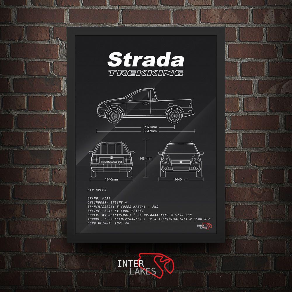 FIAT STRADA 1.4 TREKKING CS 2010