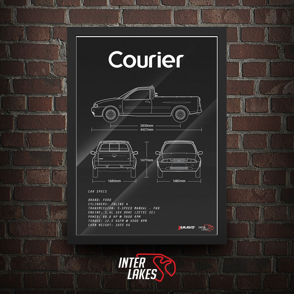 FORD COURIER CLX 1997