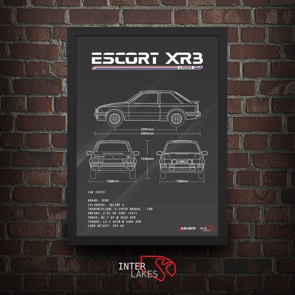 FORD ESCORT XR3 LASER 1985