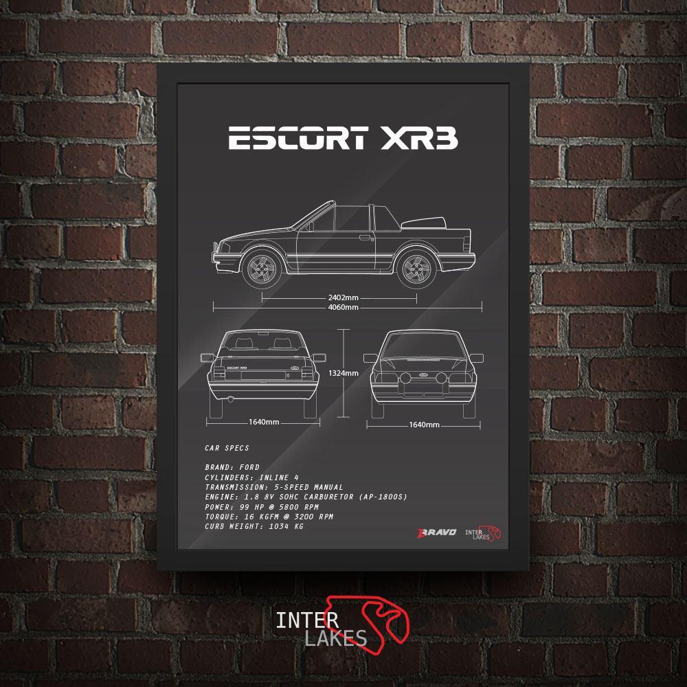 FORD ESCORT XR3 MK4 CONVERSÍVEL