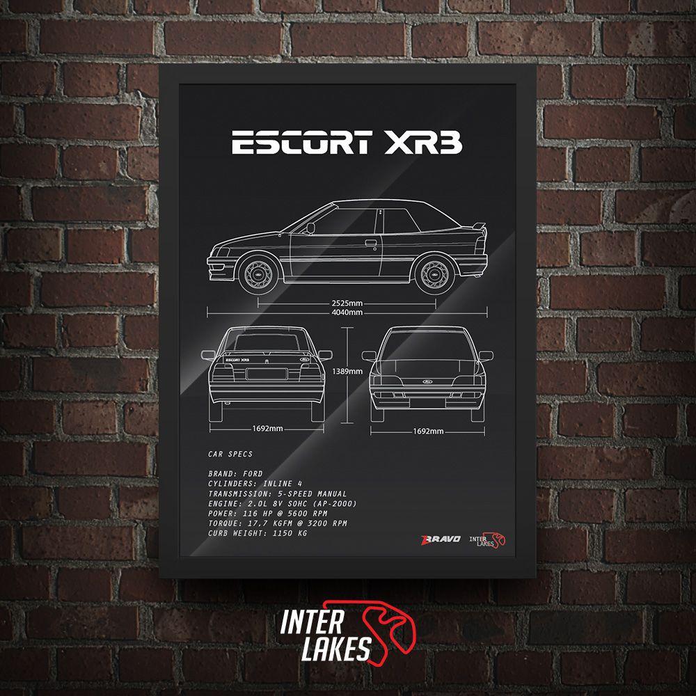 FORD ESCORT XR3 MK5 CONVERSÍVEL
