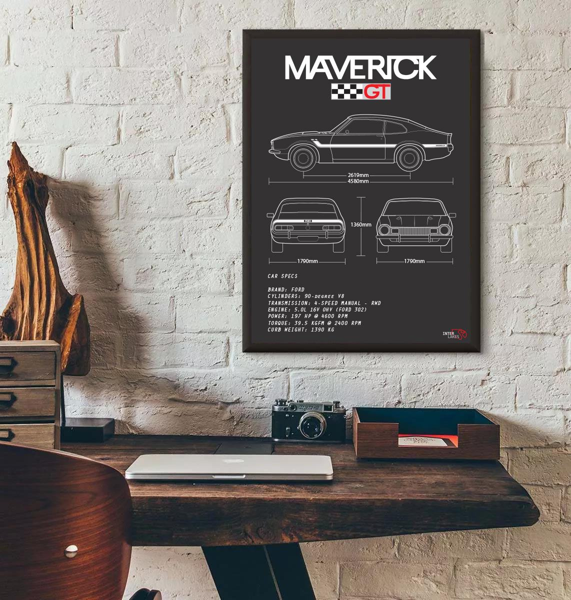 FORD MAVERICK GT V8