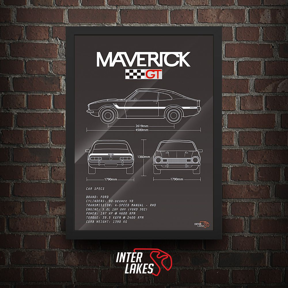FORD MAVERICK GT V8