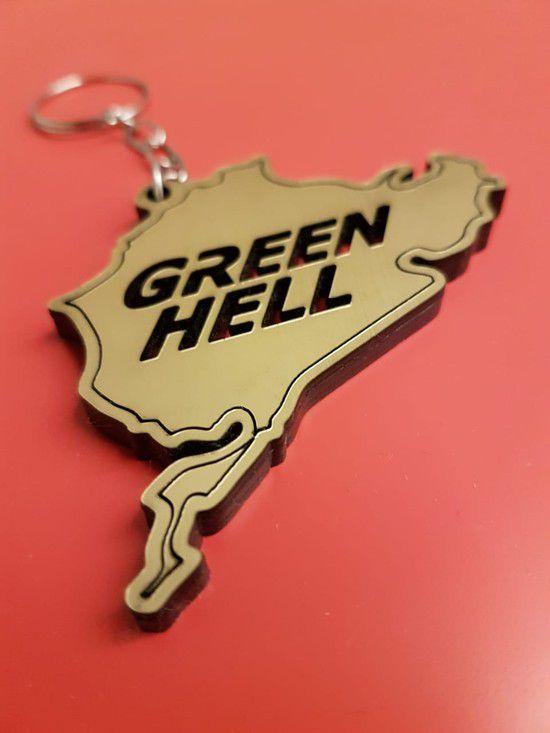GREEN HELL - OURO ESCOVADO - SÉRIE LIMITADA