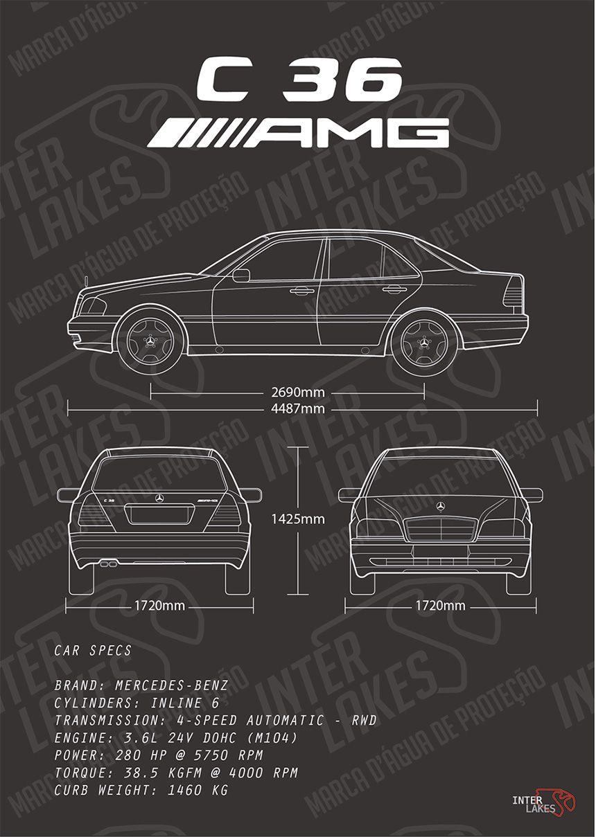 MERCEDES-BENZ C36 AMG 3.6 SEDAN W202