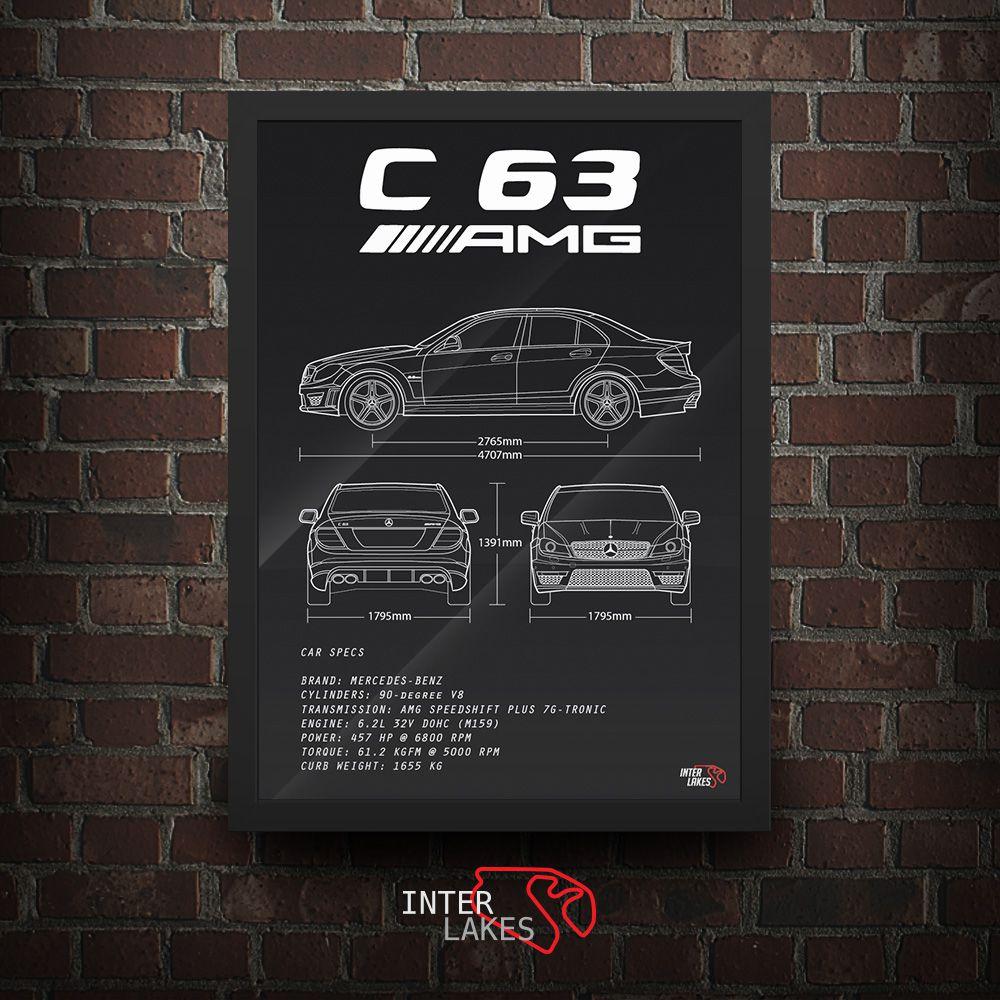 MERCEDES-BENZ C63 AMG W204 2011