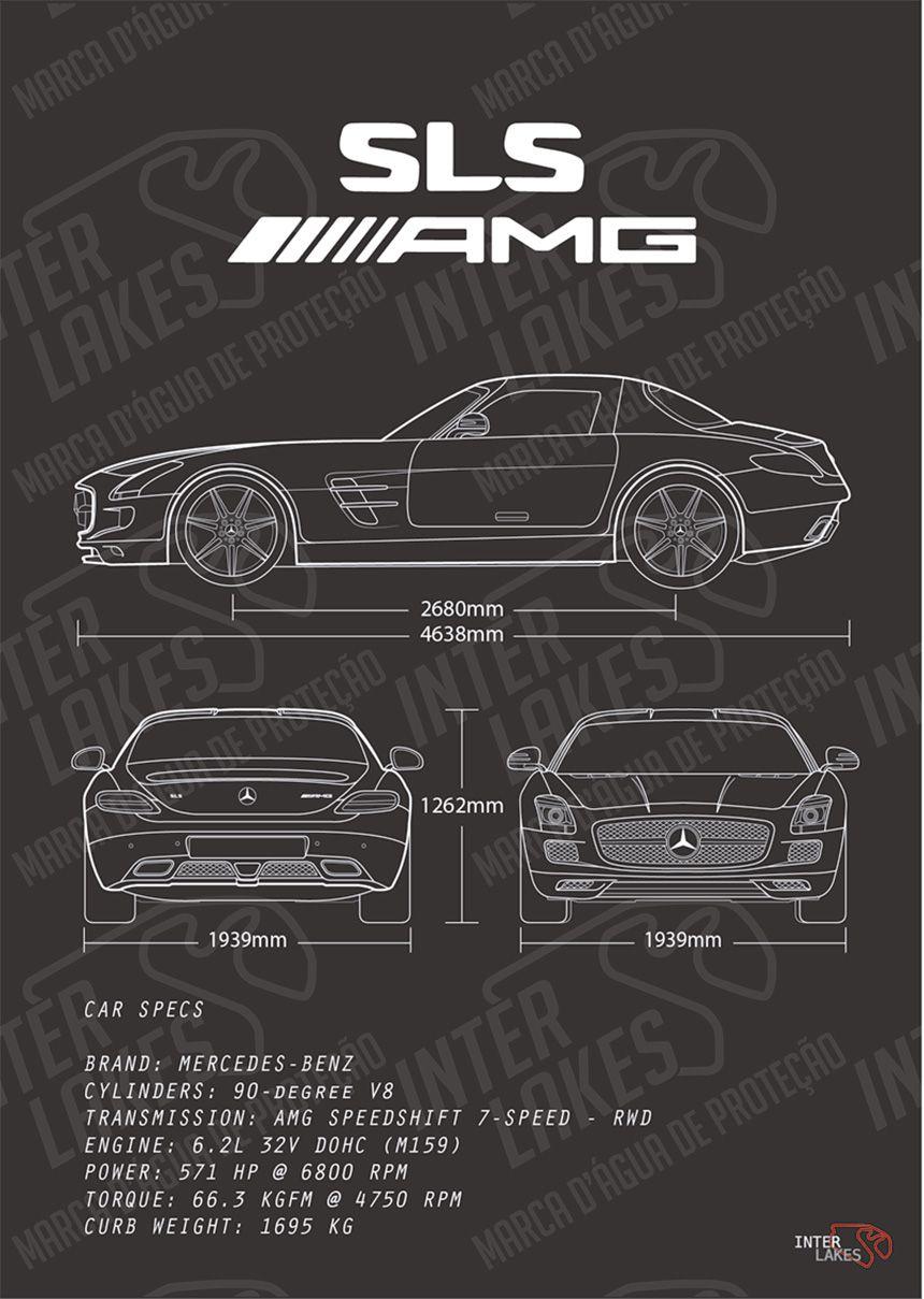 MERCEDES-BENZ SLS AMG 6.2 R197