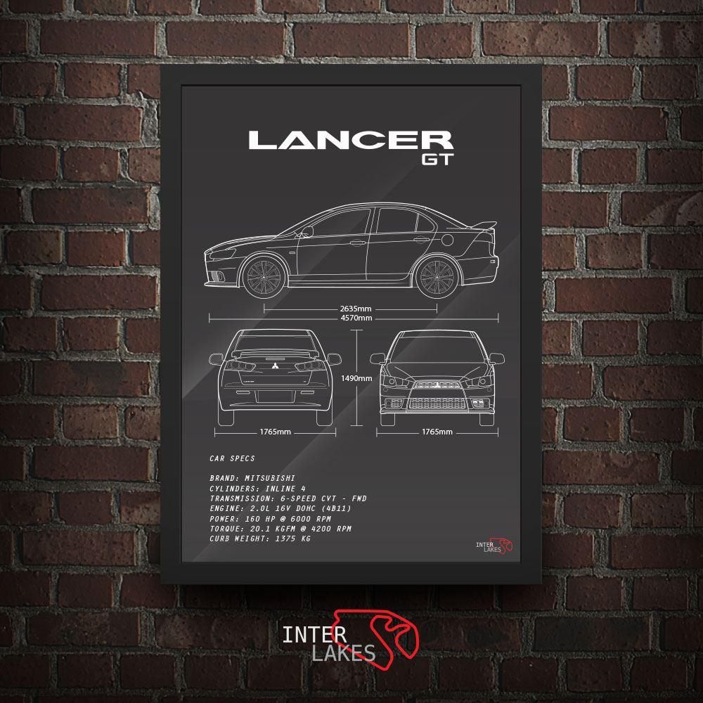 MITSUBISHI LANCER GT 2014