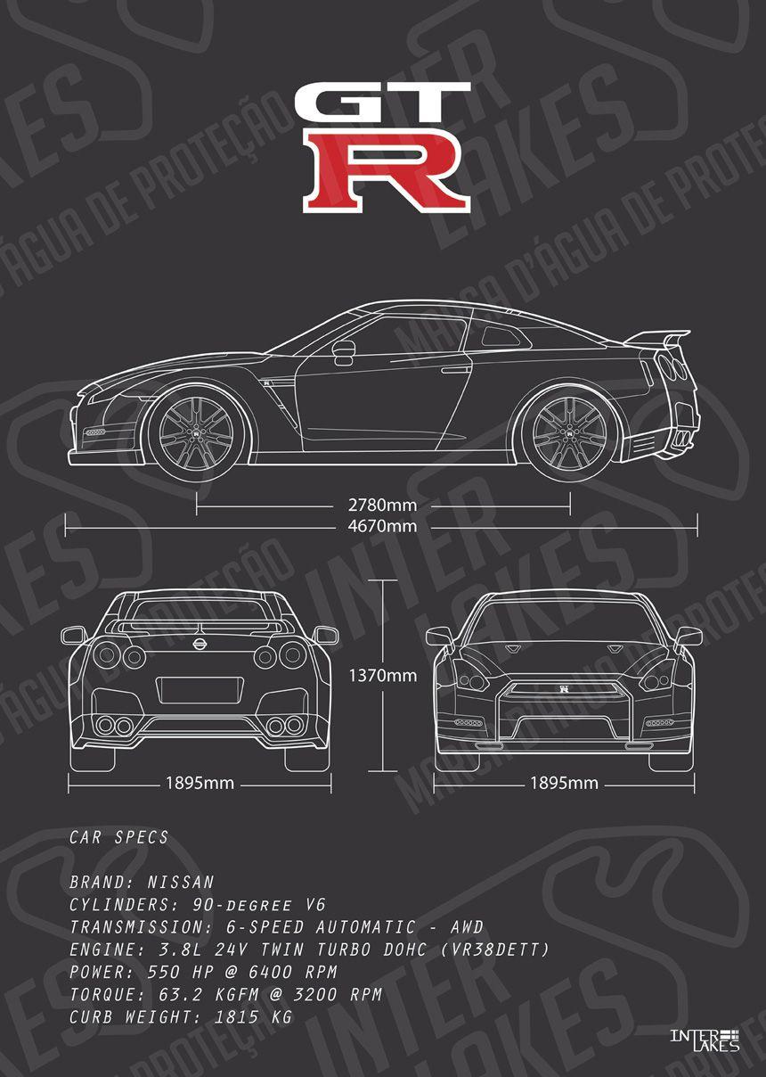 NISSAN GT-R R35 BLACK EDITION