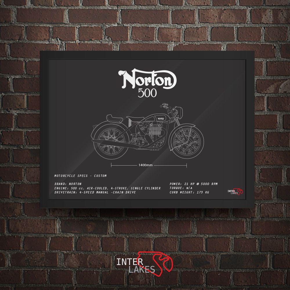 NORTON 500 1948