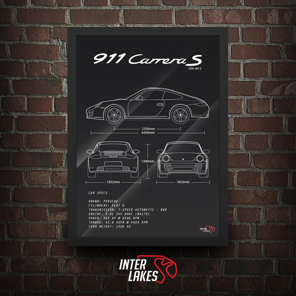 PORSCHE 911 CARRERA S 997.2