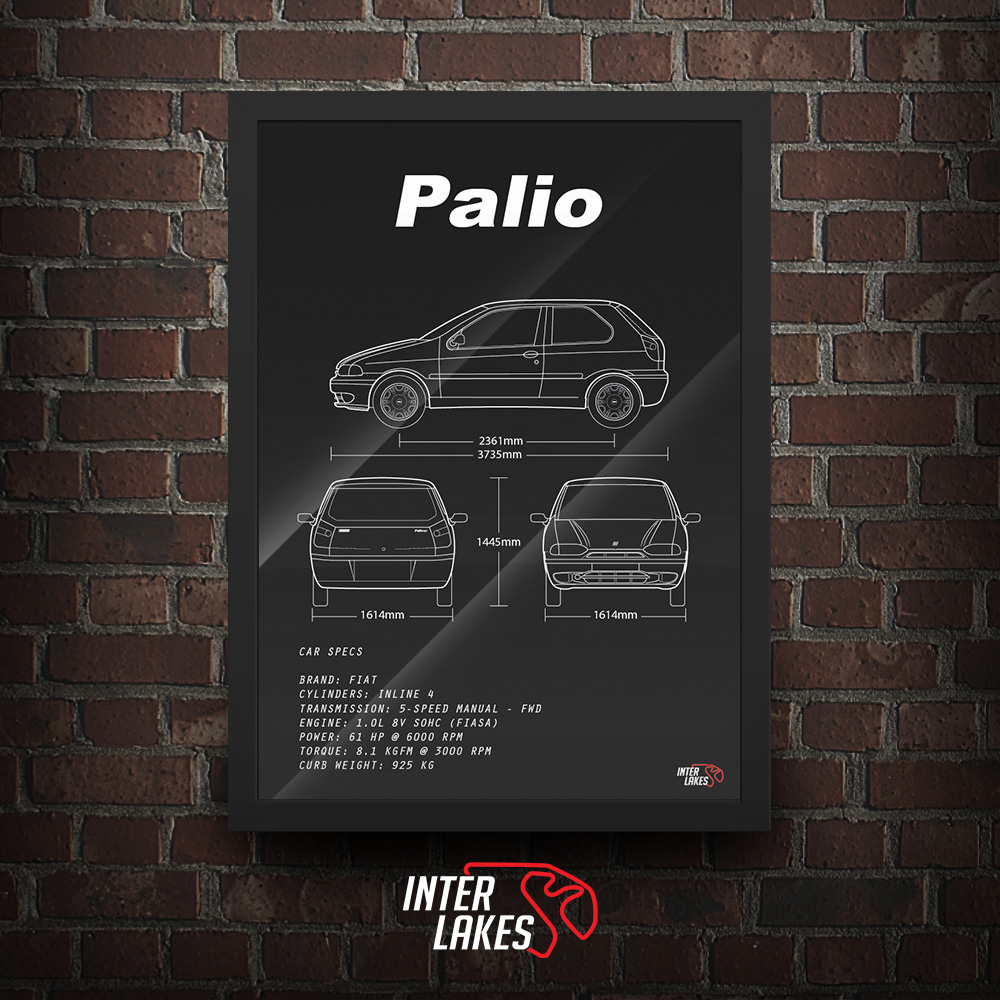 QUADRO/POSTER FIAT PALIO G1 1.0