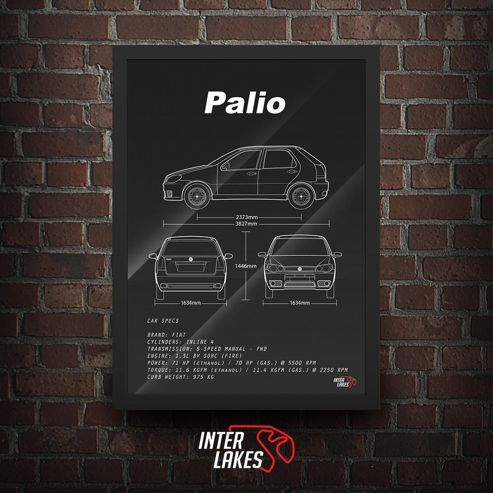QUADRO/POSTER FIAT PALIO G3 1.3