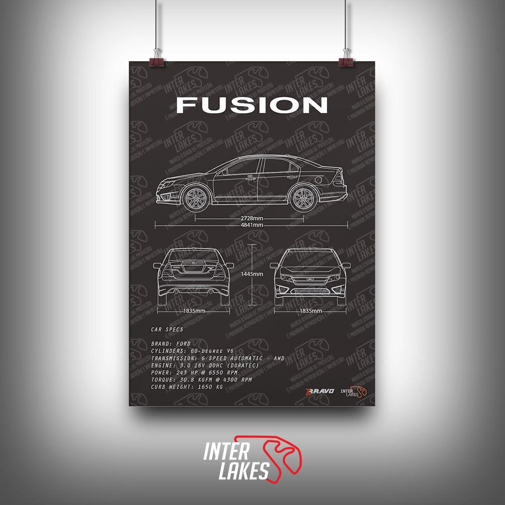 QUADRO/POSTER FORD FUSION 3.0 V6 AWD