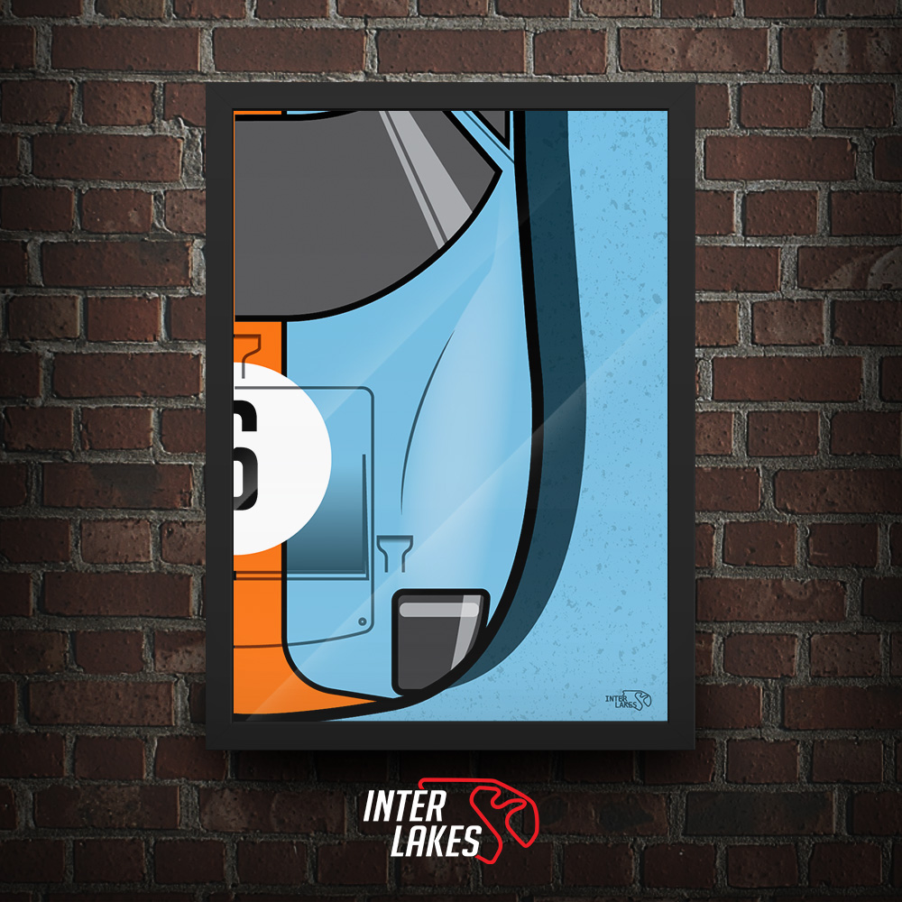 QUADRO/POSTER FORD GT40 GULF