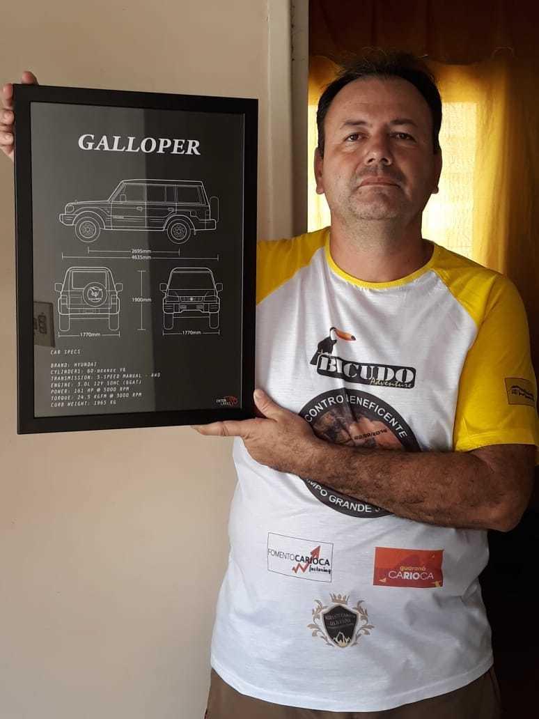 QUADRO/POSTER HYUNDAI GALLOPER EXCEED