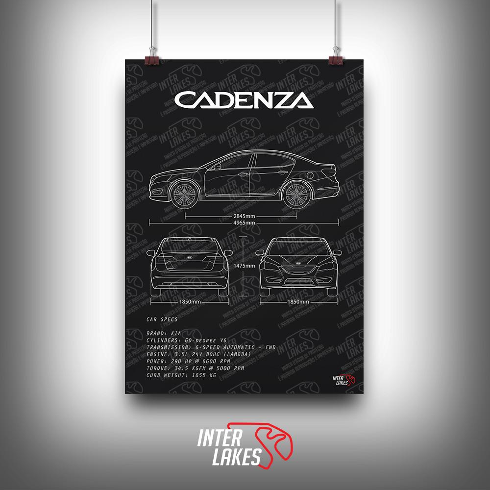 QUADRO/POSTER KIA CADENZA 3.5 V6 2012