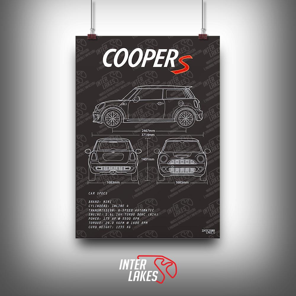 QUADRO/POSTER MINI COOPER S R56 N14