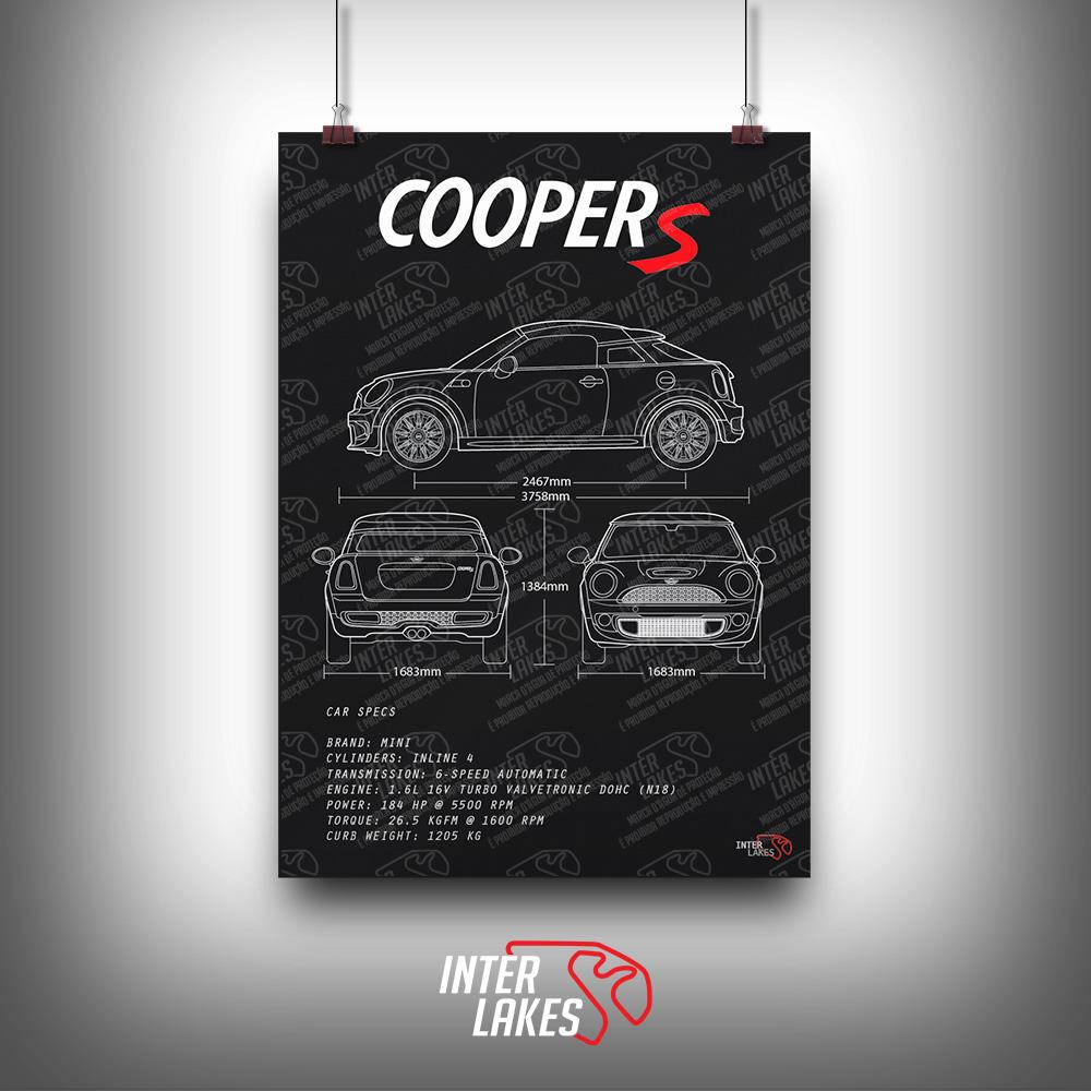 QUADRO/POSTER MINI COOPER S R58 N18