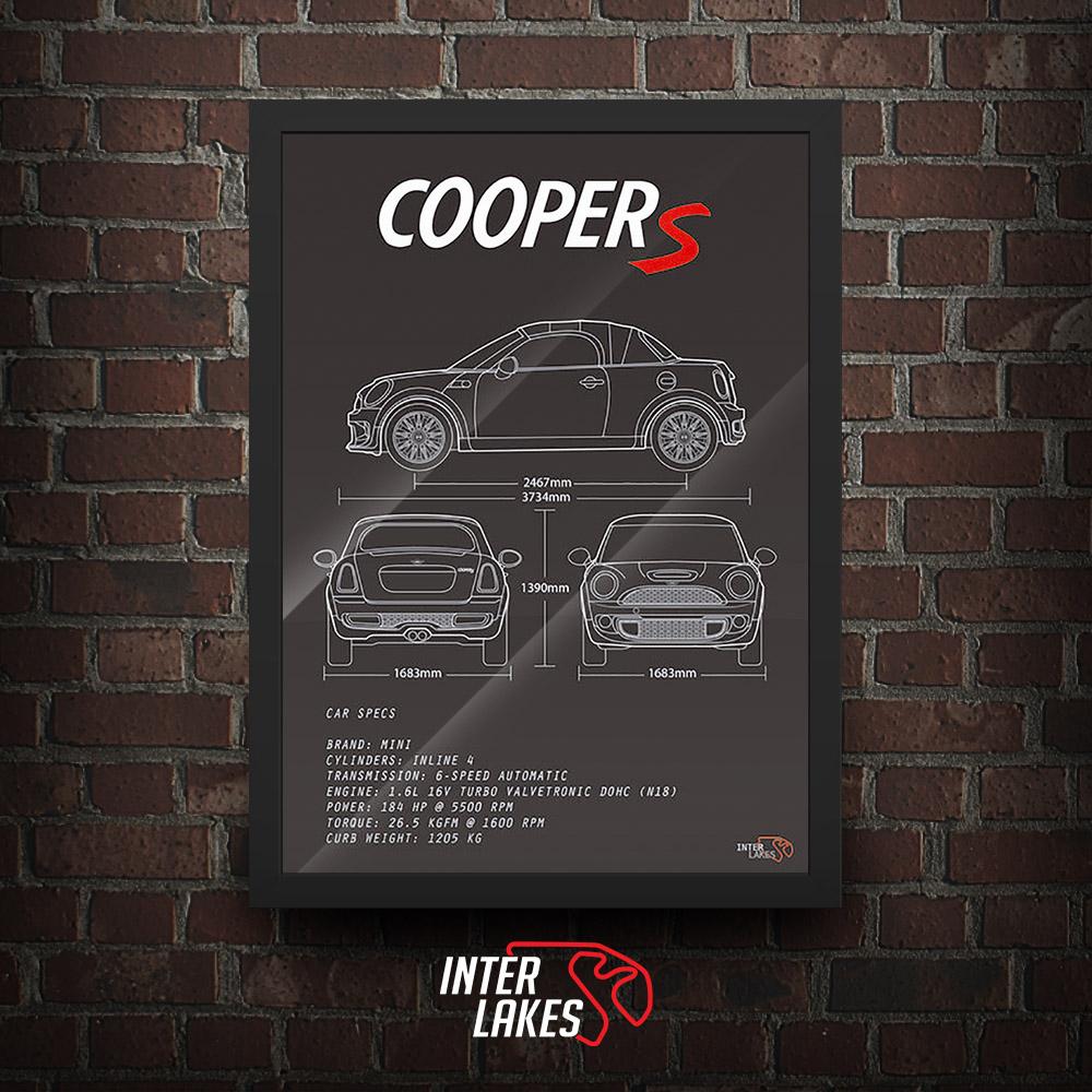 QUADRO/POSTER MINI COOPER S ROADSTER R59