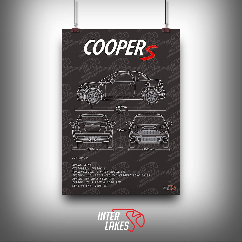 QUADRO/POSTER MINI COOPER S ROADSTER R59