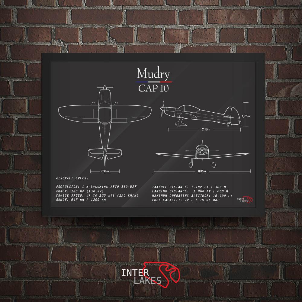 QUADRO/POSTER MUDRY CAP 10