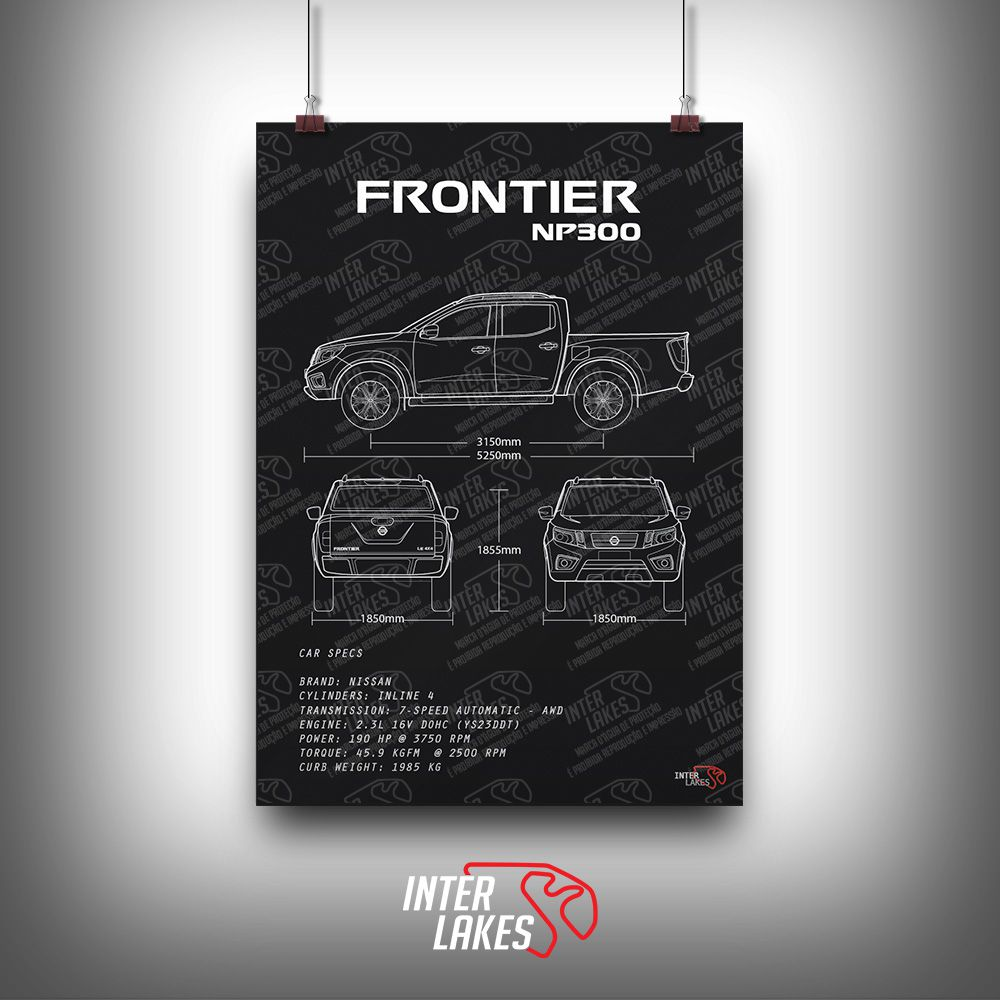 QUADRO/POSTER NISSAN FRONTIER NP300