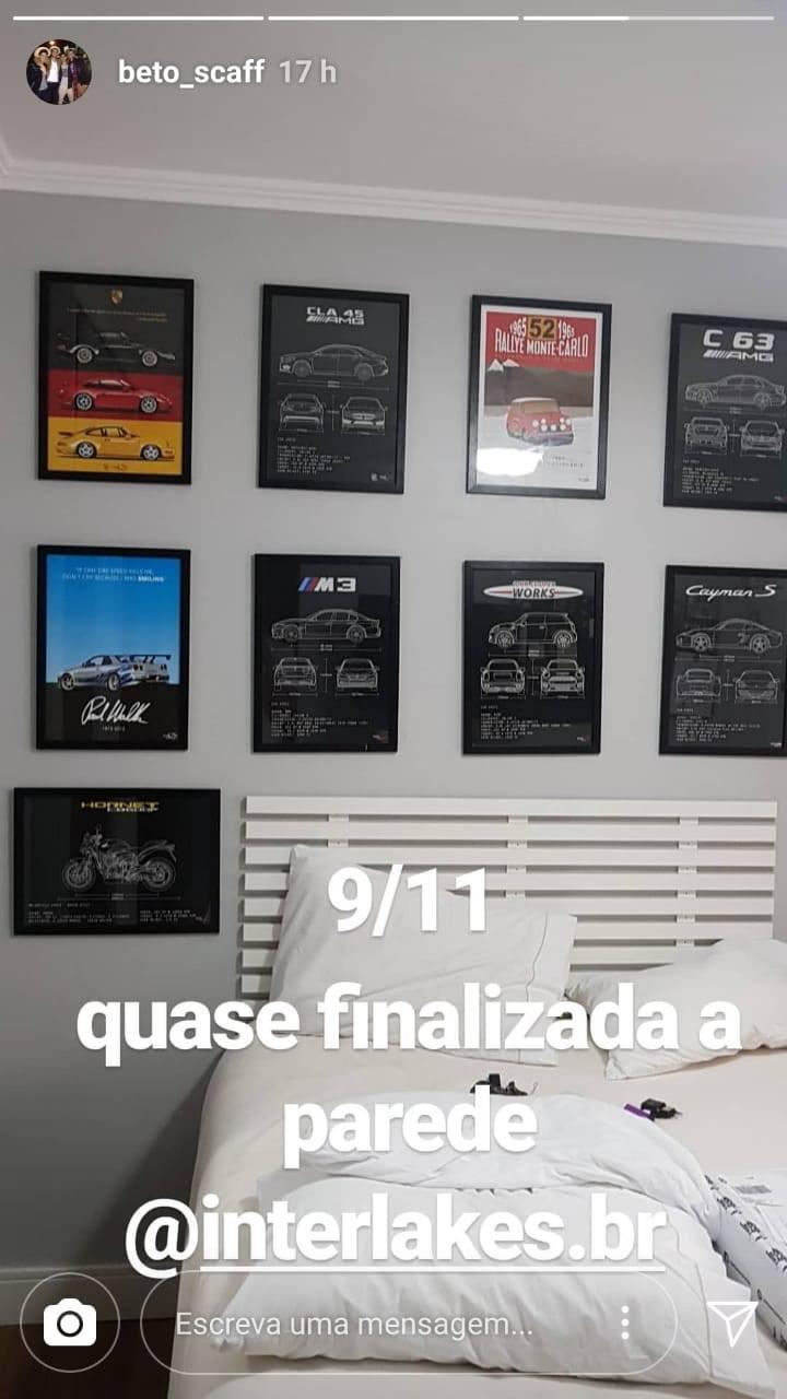 QUADRO/POSTER NISSAN SKYLINE R34 - PAUL WALKER