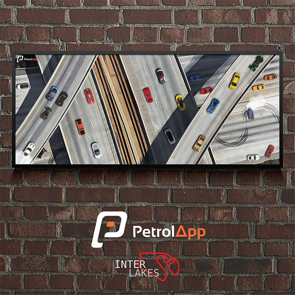 QUADRO/POSTER PETROL CITY - PETROLAPP
