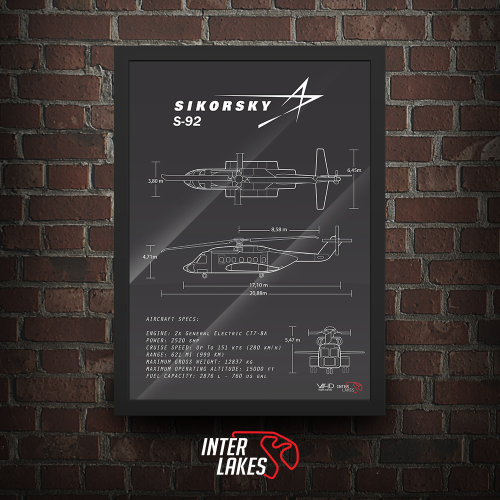 QUADRO/POSTER SIKORSKY S-92