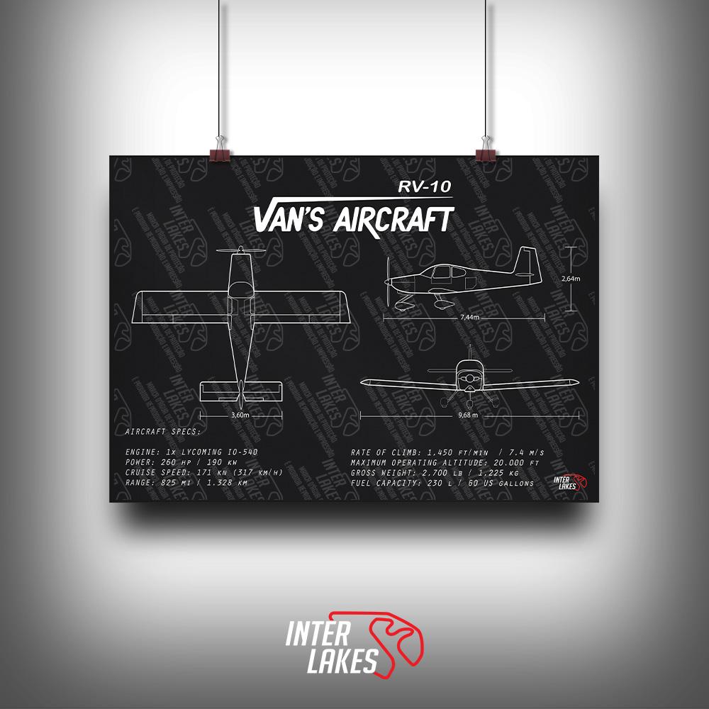 QUADRO/POSTER VAN'S AIRCRAFT RV-10