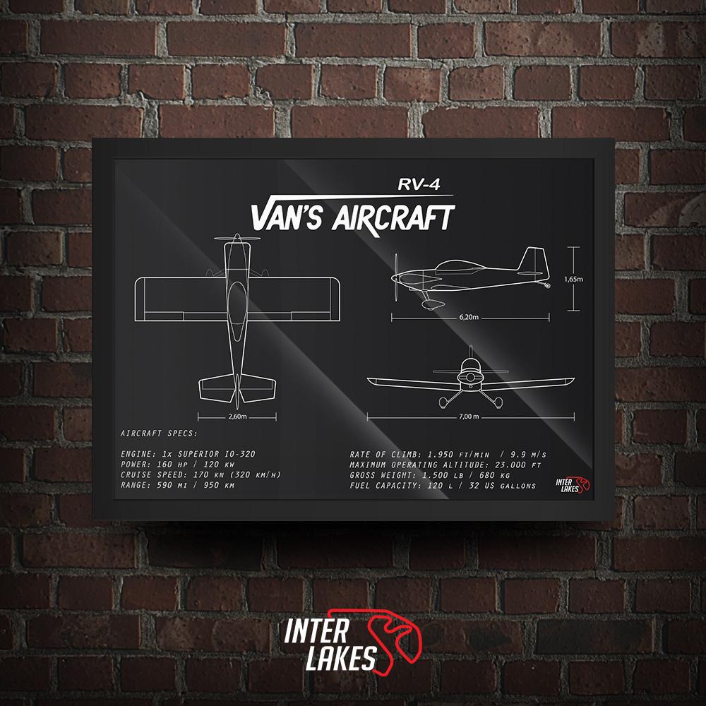 QUADRO/POSTER VAN'S AIRCRAFT RV-4